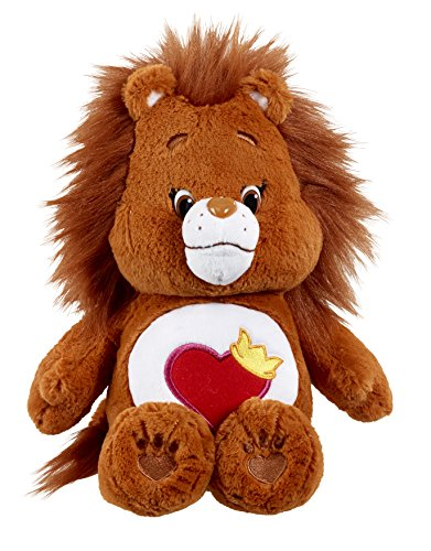 Care Bear Brave Heart Lion Plush 35 cm with DVD