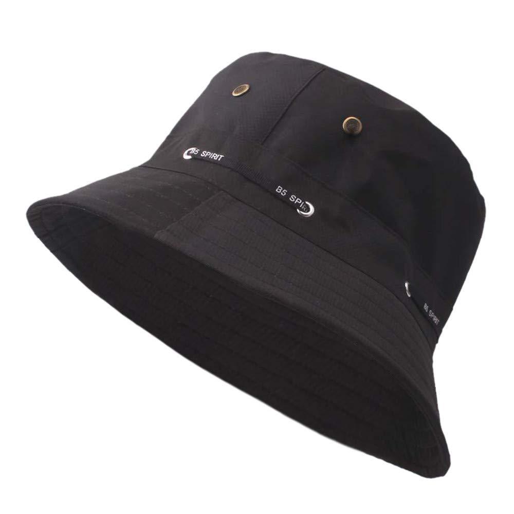 Modaworld Cappelli da Pescatore Tinta Unita allaperto Protezione Solare Casual