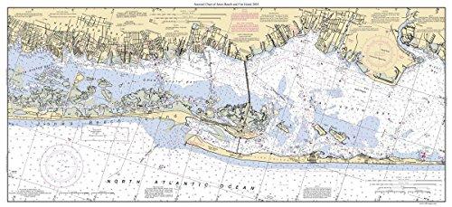 Jones Beach - Fire Island 2003 Nautical Chart - Long Island South Coast - Custom Print New York Harbors 578-12352 Custom 3
