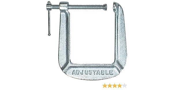 Adjustable Clamp 1434-C Adjustable C-Clamp 3 x 4-1//2-Inch