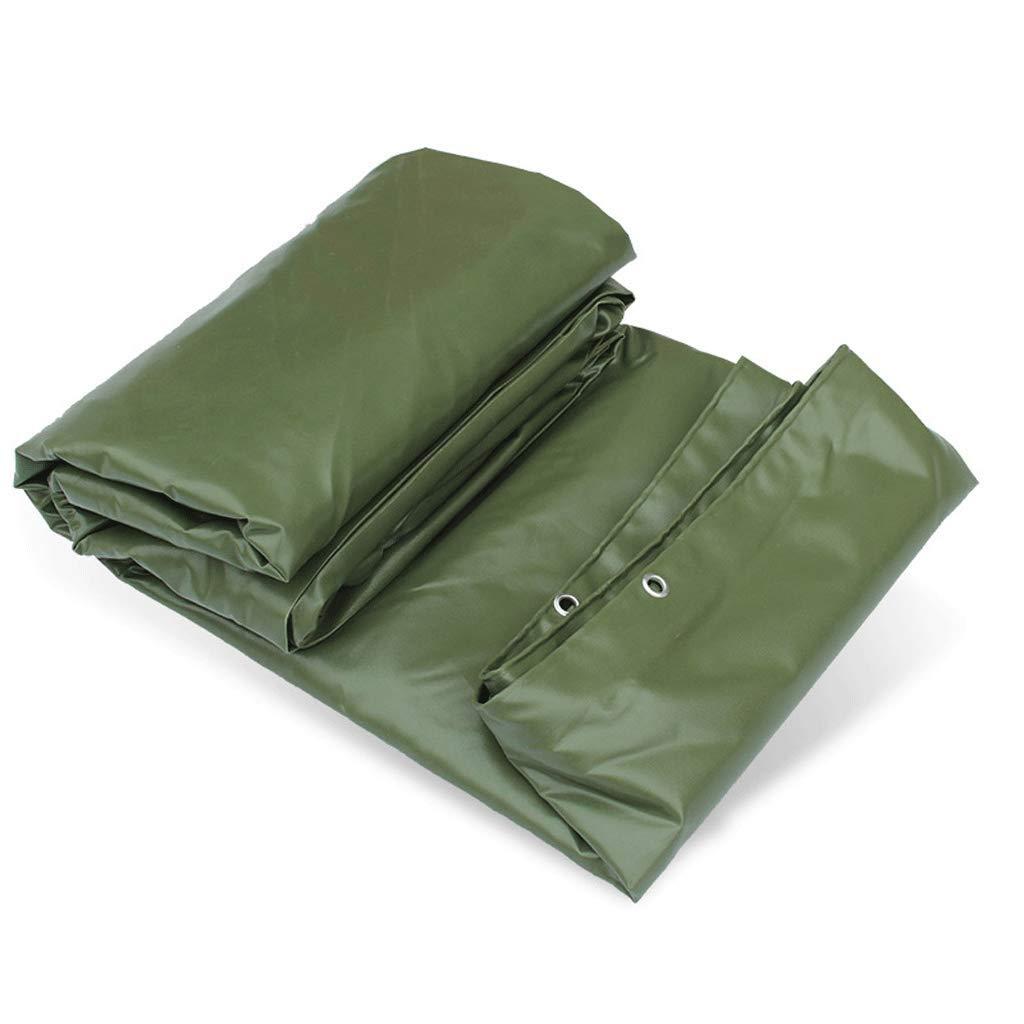 Verdicken Wasserdichte Sie Wasserdichte Verdicken Tuch-Markise-Tuch PVC-überzogene Tuch-überzogene Gummi-Leinwand-Sonnenschutz-Grün adf99a