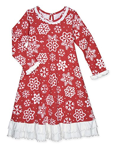 Girls Christmas Nightgown - 5
