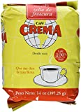 Cafe Crema Ground Coffee From Puerto Rico Cafe Molido 14 Ounce Bag