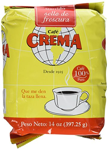 Crema Ground Coffee Puerto Ounce product image