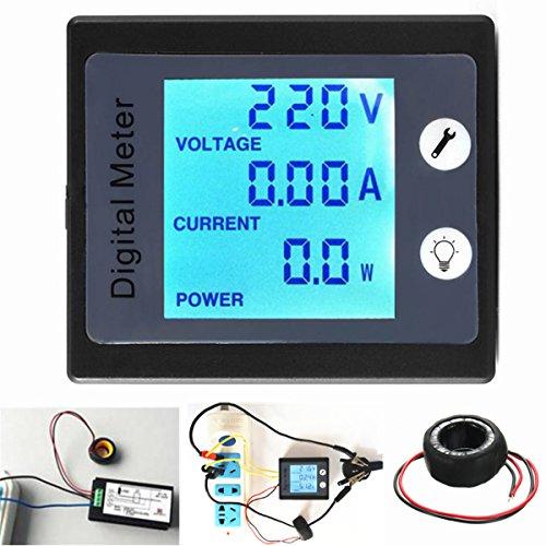 AC80V-260V 100A Digital Power Energy Meter Voltage Tester Ammeter Volt Meter Transformer: DIY & Tools