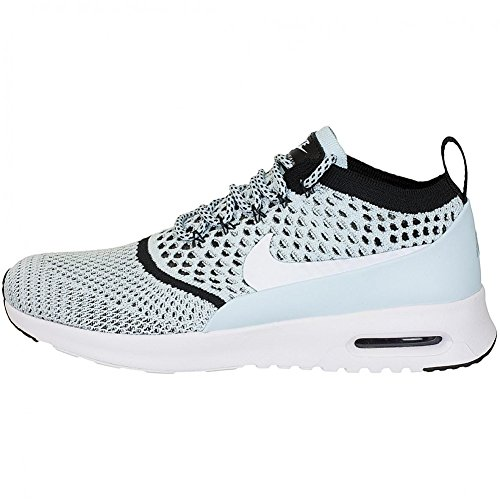 Blue Nike Flyknit Ultra Sneaker Women Trainer White Max Air Thea 8U8wAFq