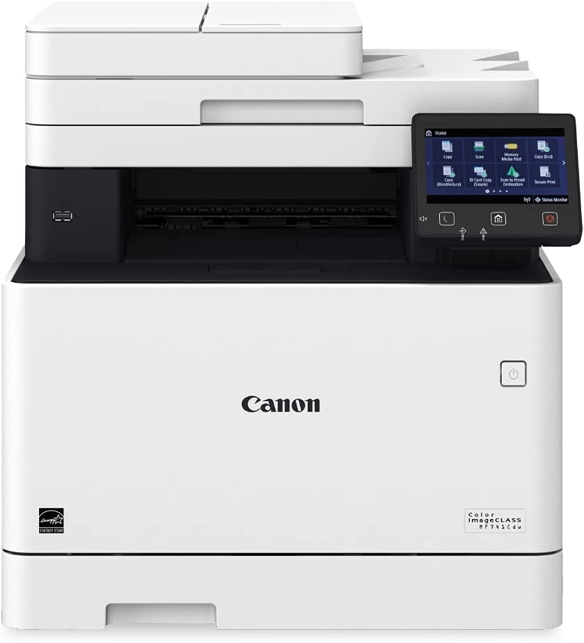 Color imageCLASS MF741Cdw – Multifunction, Wireless
