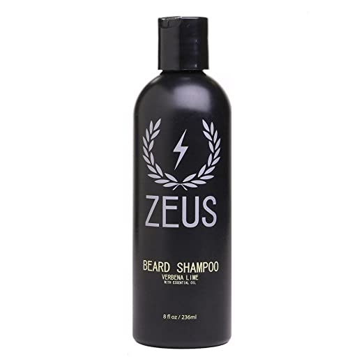 Zeus Beard Shampoo and Wash for Men Review