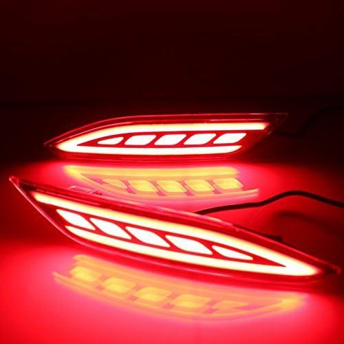 Nacht fahren Licht brake-h-hrv-2015-ii f/ür Vezel HRV HR-V 2015-2018 July King LED-Licht Guide Bremslichter