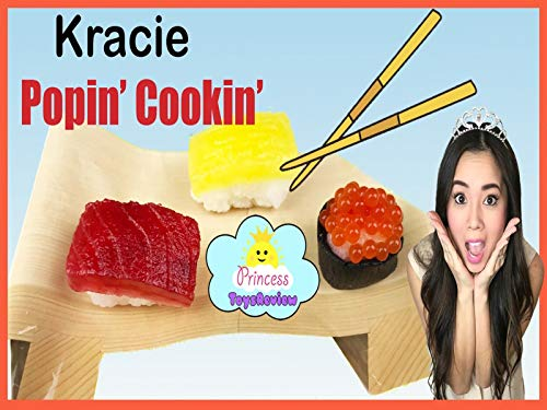 Clip: Diy Sushi Candy Kracie Poppin' with Princess ToysReview ()