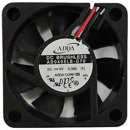 Professional Grade Products AD0405LB-G70 DC-FAN, Ball Bearing, Lead Wire, 5V, 4.7 CFM, 40 mm x 40 mm x 10 mm