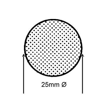 EPDM MR 10250 25mm Ø ab 1m Moosgummidichtung Rundschnur Schwarz