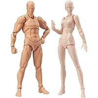 Yuoan Actionfigur modell 2 delar Ck body docka Chan & Kun PVC Movebale actionfigur modell för SHF version 2,0…