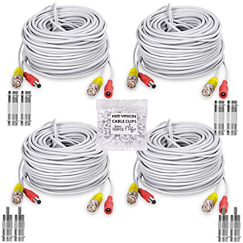 HISVISION 4 Pack 100FT30M