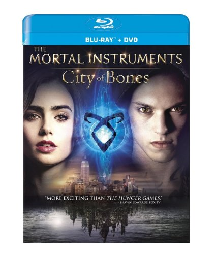 Blu-ray : The Mortal Instruments: City of Bones (With DVD, Ultraviolet Digital Copy, 2 Pack, , 2 Disc)