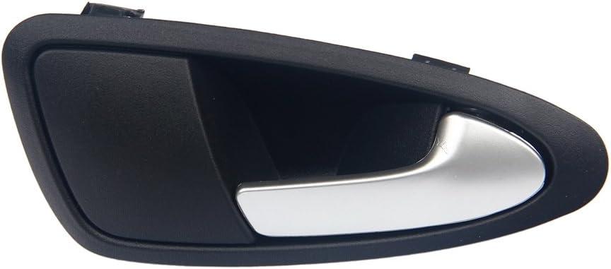 maniglia interna porta interna anteriore adatta per Seat Ibiza 6J1837114A 6J1837113A Qiilu Maniglia portiera interna auto