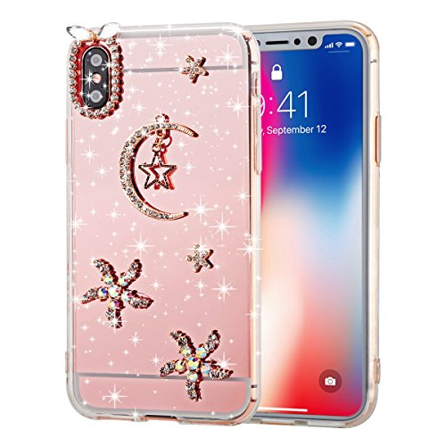 Scheam Samsung Galaxy S8 TPU Cover TPU Skin Protector Protective Phone Case Case Compatible with Samsung Galaxy S8 TPU (Moon)