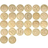 Yoption Vintage Retro Brass Head Alphabet Letter Initial Wax Classic Sealing Wax Seal Stamp