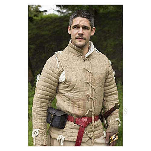 Medieval Gambeson Thick padded Jacket COSTUMES DRESS SCA coat Aketon vest Armor