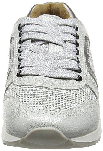 White Weiß Fs162001i Glitter Top München Women's White Low Laufsteg Sneakers qw08vCUx