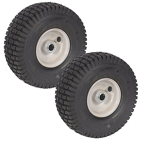 2 PK 2PLY Wheel Assembly For Snapper 5 0618 5 1449 5 2267 (Snapper Riding Mower)