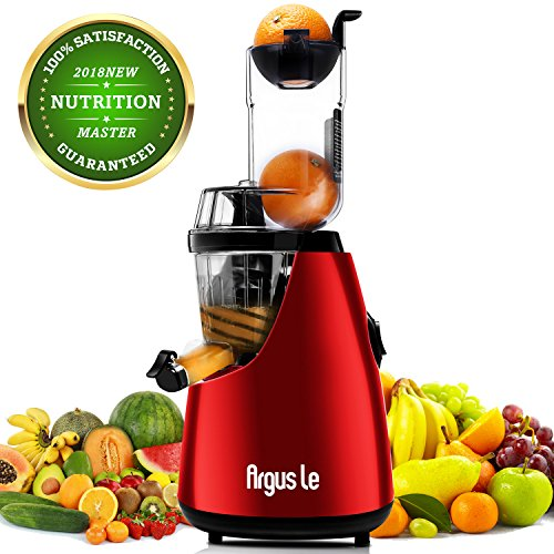 Juicer, Argus Le Slow Masticating Juicer Extractor, 3