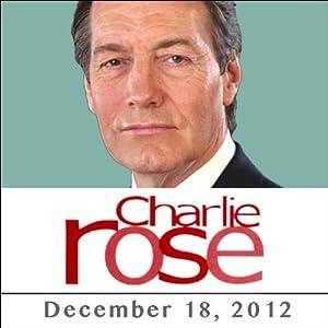 Charlie Rose: Ken Rogoff, Gus Van Sant, Matt Damon, and John Krasinski, December 18, 2012 Radio/TV Program