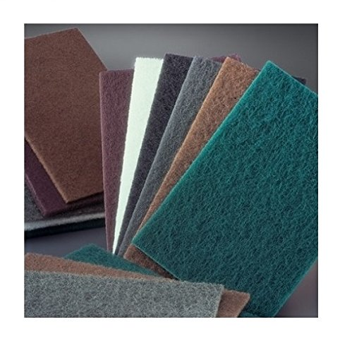 6 X 9 Hand Pad Scouring Very Fine Grit A//O Green