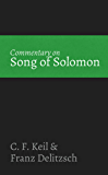 Commentary on Song of Solomon (English Edition)