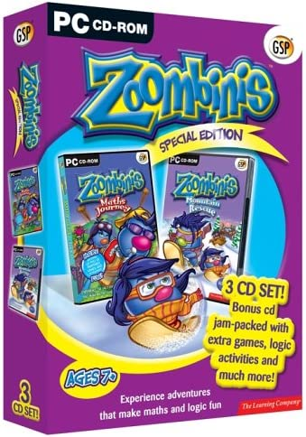Zoombinis 7 Mountain Rescue XP 95//98 Computer PC Game Windows 8 Vista