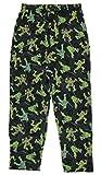 TMNT Teenage Mutant Ninja Turtles Black Graphic Sleep Lounge Pants Large