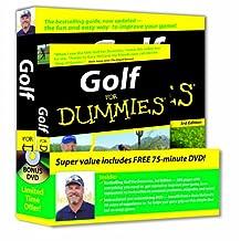 Golf For Dummies, DVD Bundle