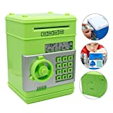Kids Electronics Best Deals - Eflar Code Electronic Money Bank,Mini ATM Coin Saving Banks,Coin Saving Boxes,Toys Gifts Birthday Gifts ATM Bank for Kids - Green
