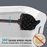 Homemaxs Toilet Brush and Holder 2 Pack 【2020