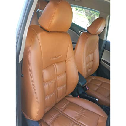 Outstanding Elegant Nappa Grande Tan Art Leather Seat Cover For Mahindra Onthecornerstone Fun Painted Chair Ideas Images Onthecornerstoneorg