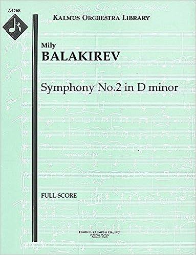 Symphony No.2 in D minor: Full Score [A4268]