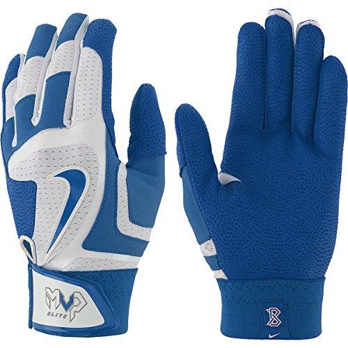 Nike MVP Elite Batting Gloves - Black/Black - Medium GB0378-007-M