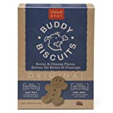 Cloud Star Buddy Biscuits Dog Treats, Bacon and Cheese Flavor, 16-Ounce Boxes (Pack of 6), My Pet Supplies