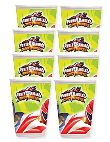 Power Rangers Dino Thunder Paper Cups 9oz (8 Count) ()