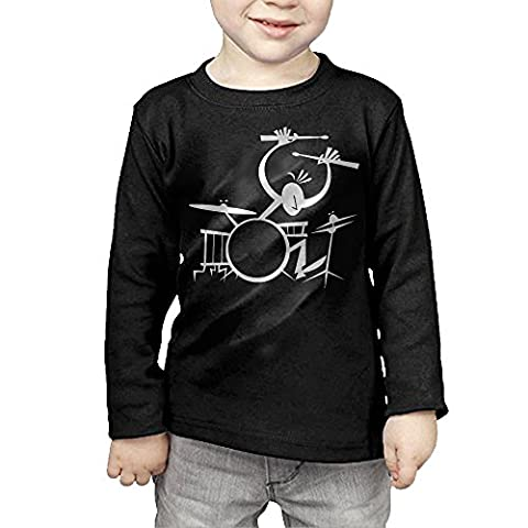 Drummer Music Instruments Cool Boys Long Sleeve T-shirt (Instruments Quirurgicos)