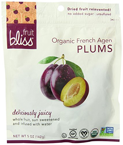 Fruit Bliss Organic French Agen Plums - Plum - 5 oz ()