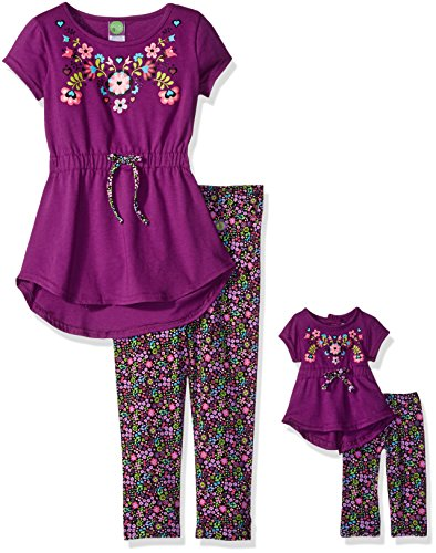 Purple Floral Outfit - 1