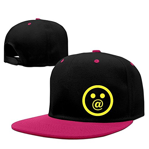 At Funny Emoji Faces Surprise Face Fashion Design Funny Baseball Hat