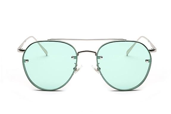 bdf357a544 Amazon.com  GAMT Round Aviator Sunglasses Vintage Metal Frame Unisex  Designer Green Lens  Shoes
