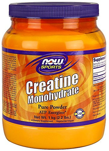 NOW Foods Creatine Powder, 2.2 Pounds , Pack of 3 by Now Foods
