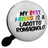 Small Bike Bell My best Friend a Lagotto Romagnolo Dog from Italy - NEONBLOND