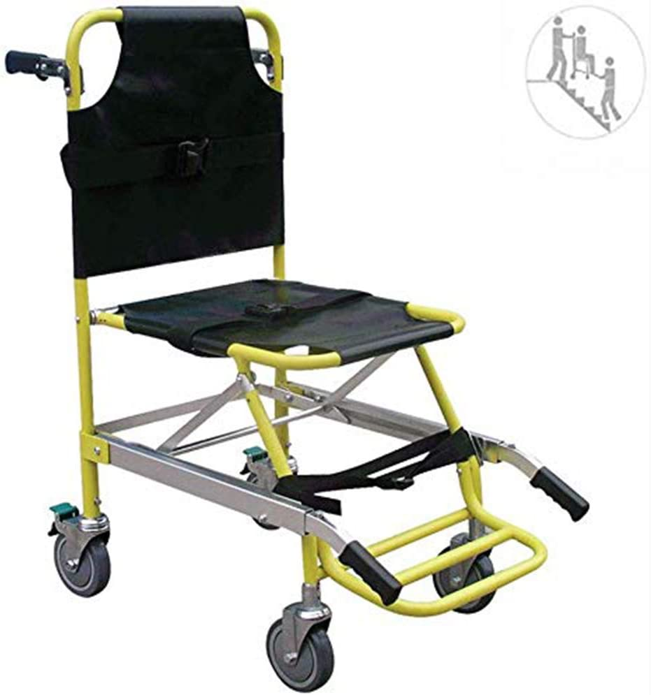 NNBB Presidente de la Escalera - Ambulancia Bombero Evacuación Presidente elevación de la Escalera médico con Hebillas de liberación rápida - Capacidad de Carga: 400 Lbs
