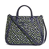 Vera Bradley Trapeze Tote in Lucky Dots Review
