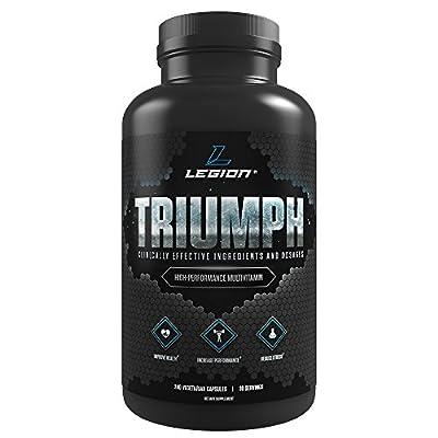 Legion Athletics Triumph Daily Multivitamin Supplement, 240 Vegetarian Capsules, 30 Servings