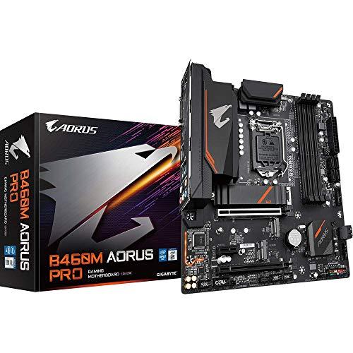 Gigabyte Aorus Pro Intel B460 LGA 1200 Micro ATX DDR4-SDRAM Motherboard